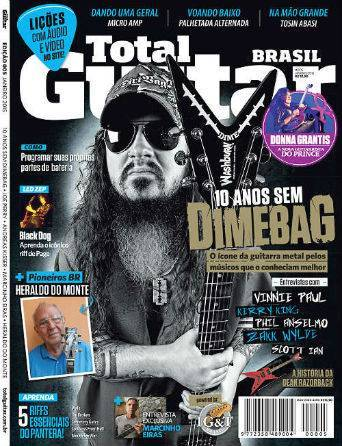 Revista Total Guitar Brasil #05 - Exclusiva com MARCINHO EIRAS