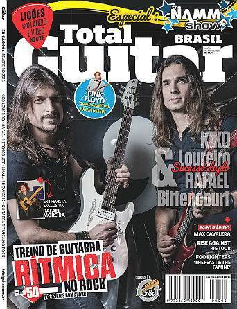 Revista Total Guitar Brasil #06 - Exclusivo Rafael Moreira