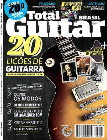 Revista Total Guitar Brasil #07 - Entrevistas com BLACKBERRY SMOKE e SYLOSIS