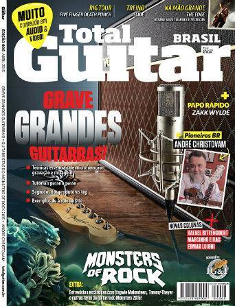 Revista Total Guitar Brasil #08 - Exclusivo com  YNGWIE MALMSTEEN e TOMMY THAYER