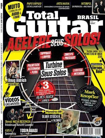 Revista Total Guitar Brasil #09 - Acelere seus solos