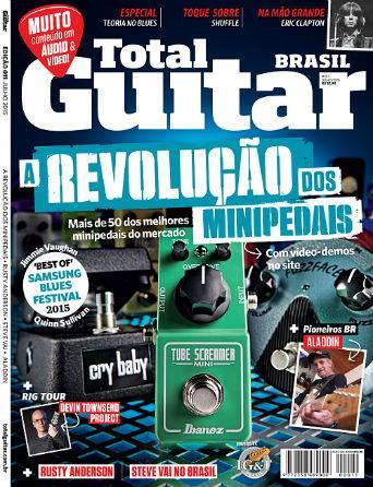 Revista Total Guitar Brasil #11 - Mini pedais