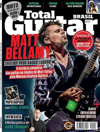 Revista Total Guitar Brasil #12 - Exclusivo com MARK TREMONTI