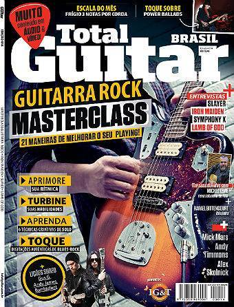 Revista Total Guitar Brasil #14 - . Entrevistas: SLAYER, IRON MAIDEN, SYMPHONY X, LAMB OF GOD