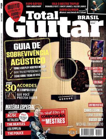 Revista Total Guitar Brasil #15 - CHRIS CORNELL, FRANK TURNER, BODDY GUY, MICHAEL ANGELO