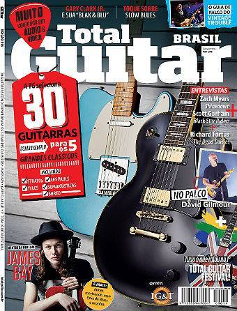 Revista Total Guitar Brasil #16 -  ZACH MYERS, SHINEDOWN, SCOTT GORHAM, BLACK STAR RIDERS, RICHARD FORTUS, THE DEAD DAISIES