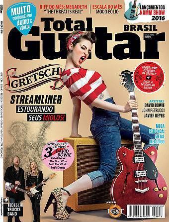 Revista Total Guitar Brasil #18 - DAVID BOWIE, JOHN PETRUCCI, JAVIER REYES