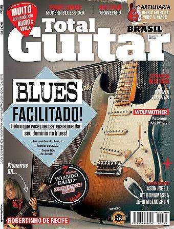 Revista Total Guitar Brasil #19 - JASON ISBELL, JOE BONAMASSA, JOHN McLAUGHLIN