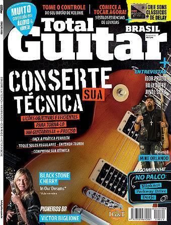 Revista Total Guitar Brasil #20 - IGOR PRADO, BILLY DUFFY, RIVAL SONS