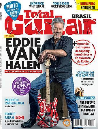 Revista Total Guitar Brasil #22 - Exclusivo Eddie Van Halen