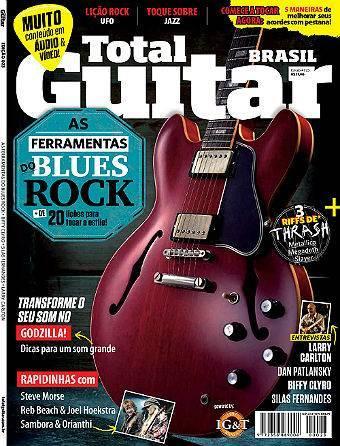 Revista Total Guitar Brasil #23 - LARRY CARLTON, DAN PATLANSKY, BIFFY CLYRO e SILAS FERNANDES