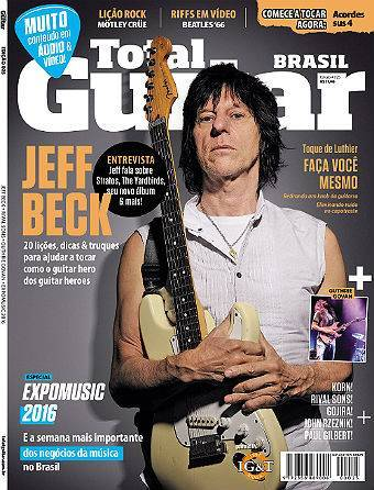Revista Total Guitar Brasil #25 - GUTHRIE GOVAN, KORN, RIVAL SONS, GOJIRA, JOHN RZEZNIK e PAUL GILBERT