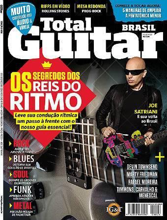 Revista Total Guitar Brasil #26 - Segredos dos reis do ritmo