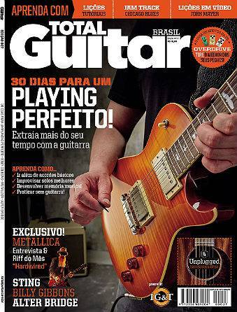 Revista Total Guitar Brasil #27 - METALLICA
