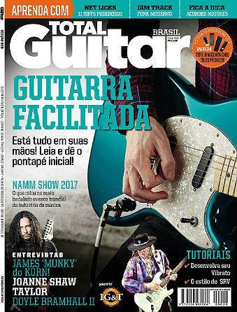 Revista Total Guitar Brasil #28 - JAMES 'MUNKY' do KORN, JOANNE SHAW TAYLOR e DOYLE BRAMHALL II