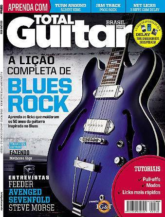Revista Total Guitar Brasil #30 - FEEDER, AVENGED SEVENFOLD e STEVE MORSE