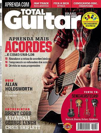 Revista Total Guitar Brasil #31 - BRENT COBB, KATATONIA, GEORGE LYNCH e CHRIS SHIFLETT