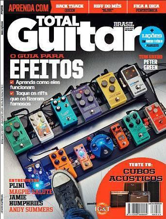 Revista Total Guitar Brasil #33 - Guia dos efeitos