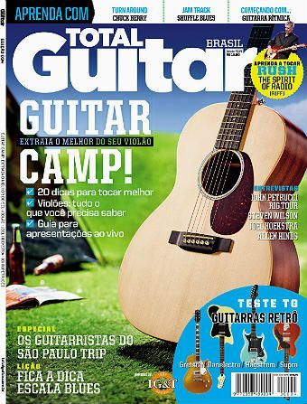 Revista Total Guitar Brasil #34 - Extraia o melhor do seu violão