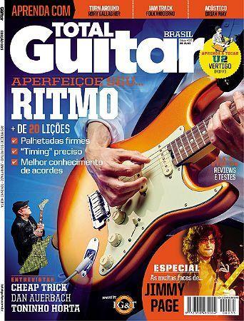 Revista Total Guitar Brasil #35 - CHEAP TRICK, DAN AUERBACH e TONINHO HORTA