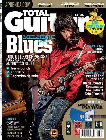 Revista Total Guitar Brasil #36 - Joe Bonamassa, Paul Gilbert e expomusic 2017