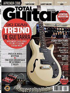 Revista Total Guitar Brasil #37 - Foo fighters e  muito mais