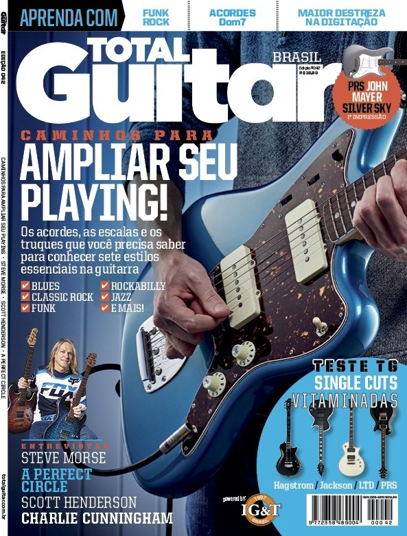 Revista Total Guitar Brasil #42 - Desvendamos sete estilos musicais essenciais na guitarra