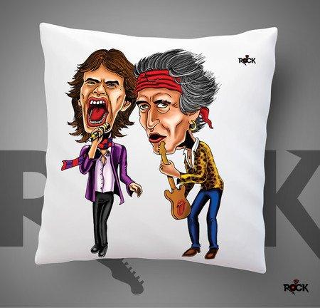 Almofadas com Enchimento Mitos do Rock Rolling Stones