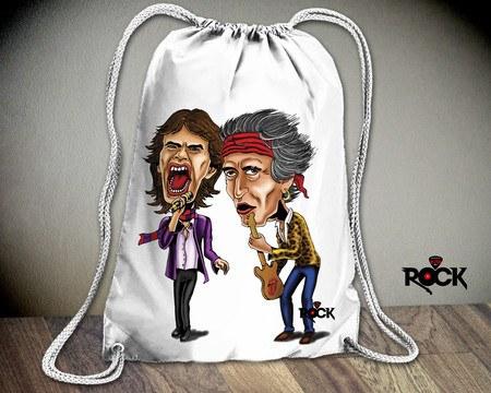 Mochila Saco Rolling Stones – Mitos do Rock