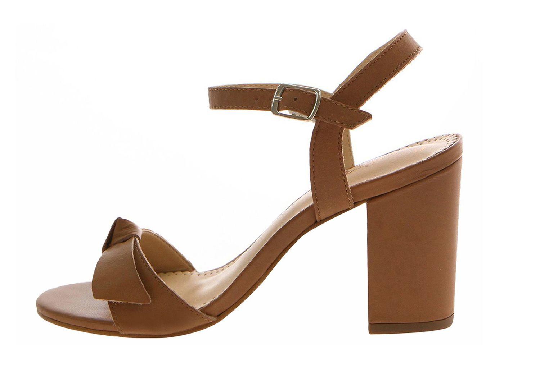 Sandália Salto Alto Conceito Fashion Couro Napa Top Caramelo – Conceito Fashion