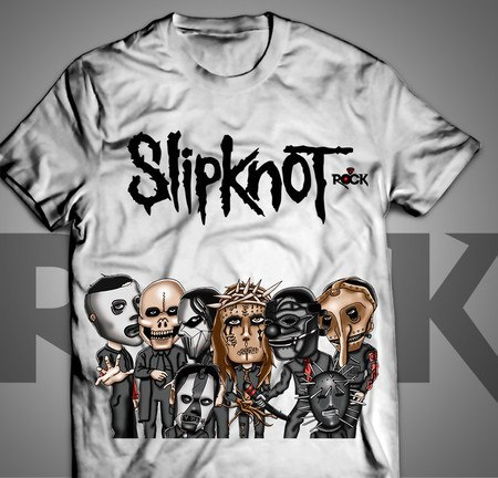 Slipknot - Camiseta Exclusiva