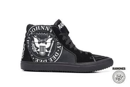 Tênis Masculino Ramones Sk8-hi – BandShoes