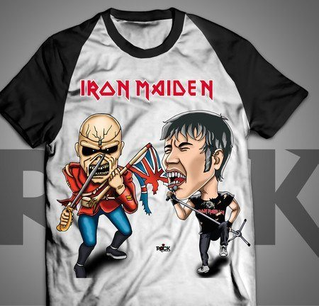 Iron Maiden - Camiseta Exclusiva
