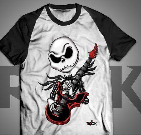 Jack Skellington - Camiseta Exclusiva
