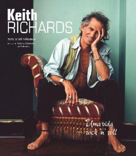 Livro - Keith Richards: Uma Vida Rock'n'roll