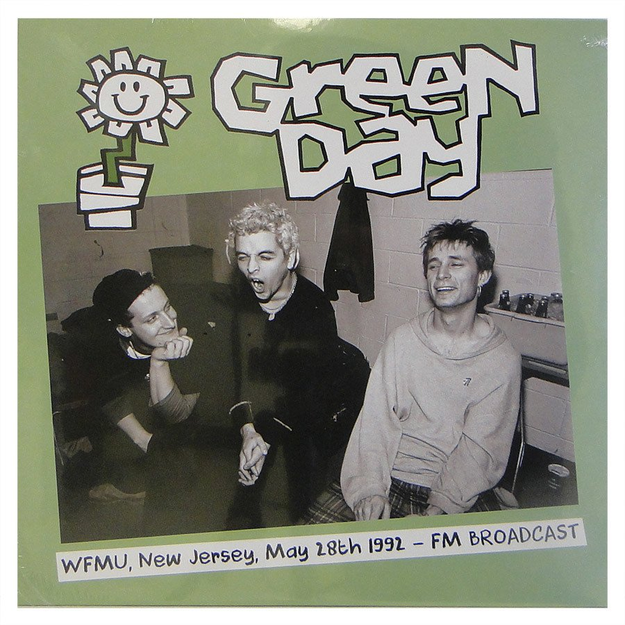Lp Green Day – WFMU, New Jersey May 28th 1992: FM Broadcast – Vinil Duplo Importado