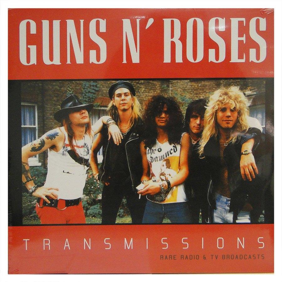 Lp Guns N' Roses – Transmissions – Rare Radio e Tv Broadcasts