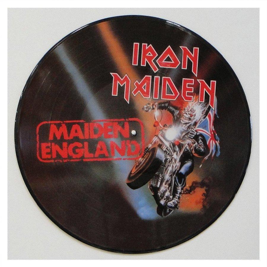 Lp Iron Maiden – Maiden England – Picture Disc
