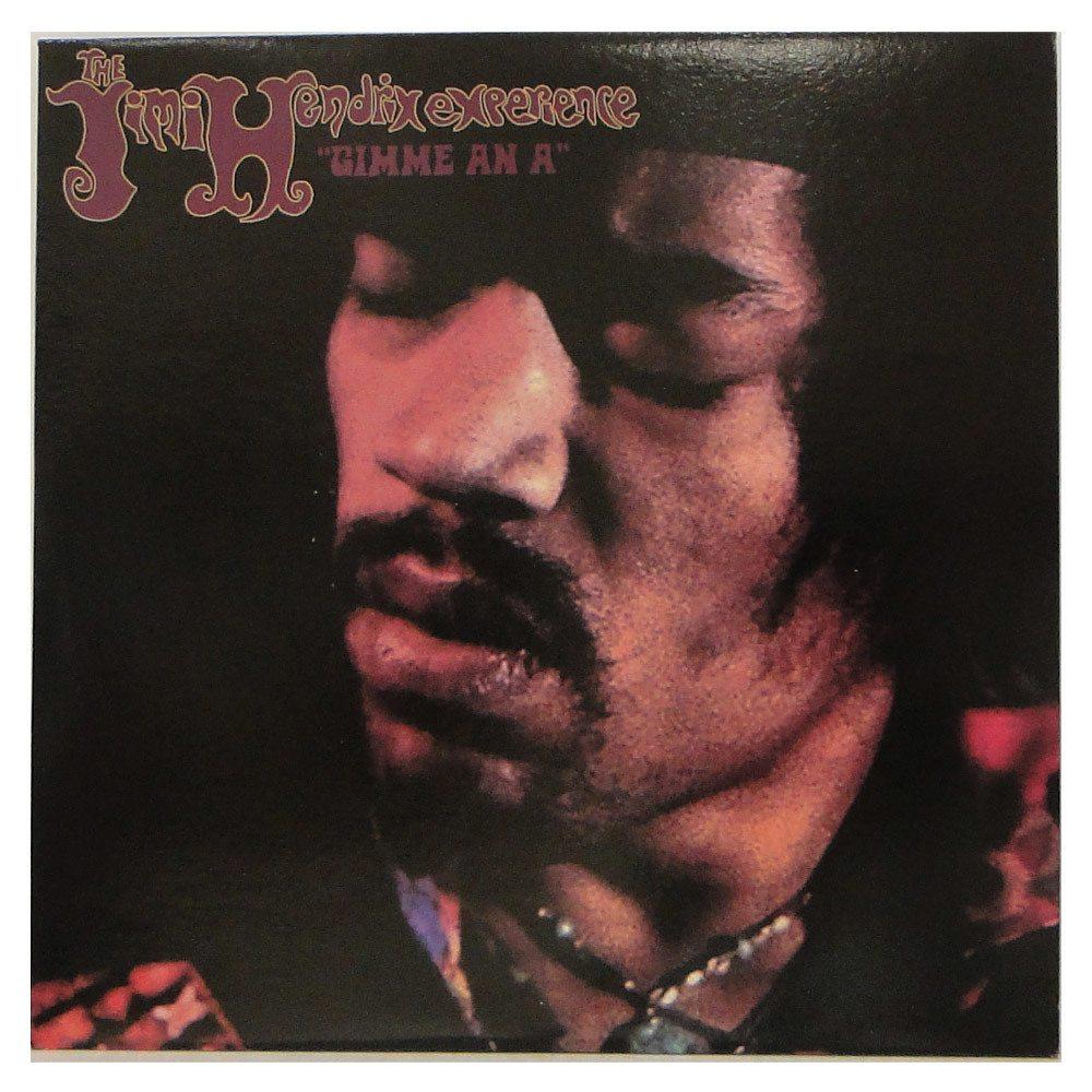 "Lp The Jimi Hendrix Experience  – "" Gimme an A "" – Duplo Importado"