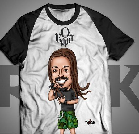 Marcelo Falcão - O Rappa - Camiseta Exclusiva