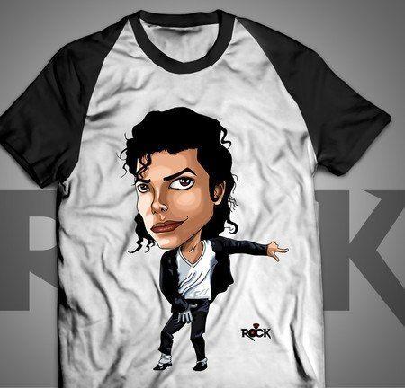 Michael Jackson - Camiseta Exclusiva