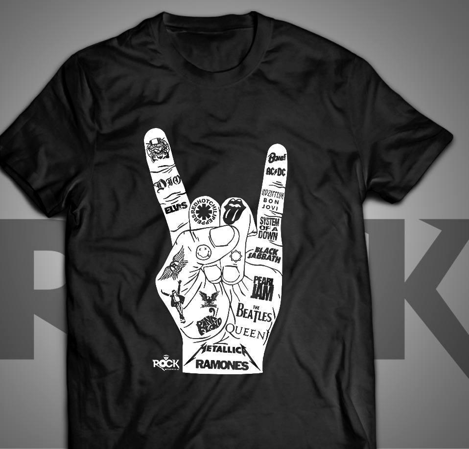 Camiseta Exclusiva - Mitos do Rock