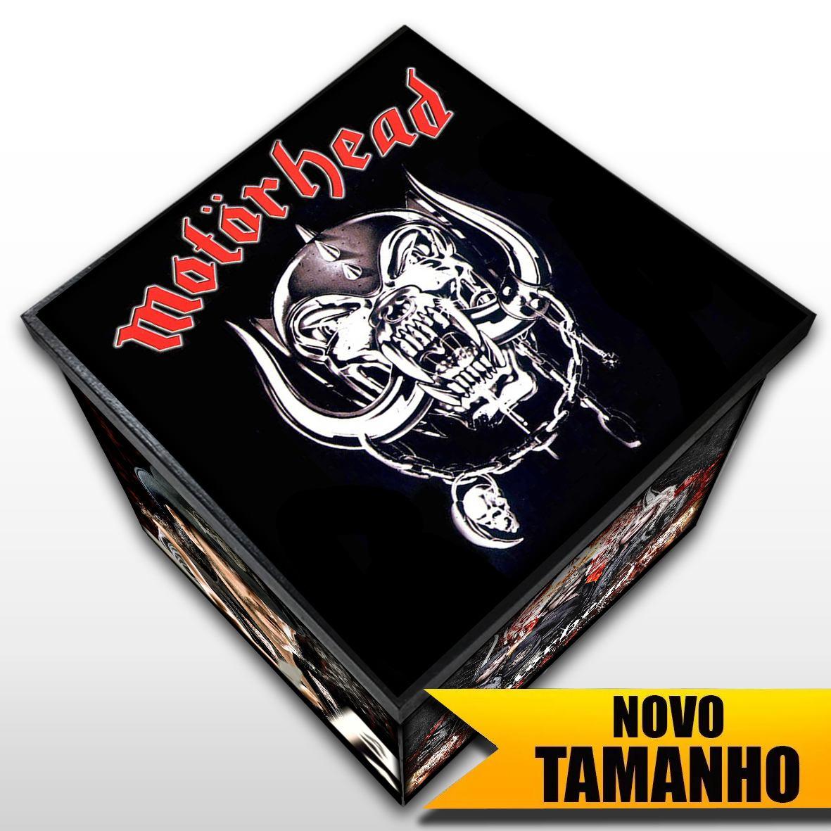 Motorhead - Caixa Em Madeira MDF - Tamanho Grande - Mr. Rock