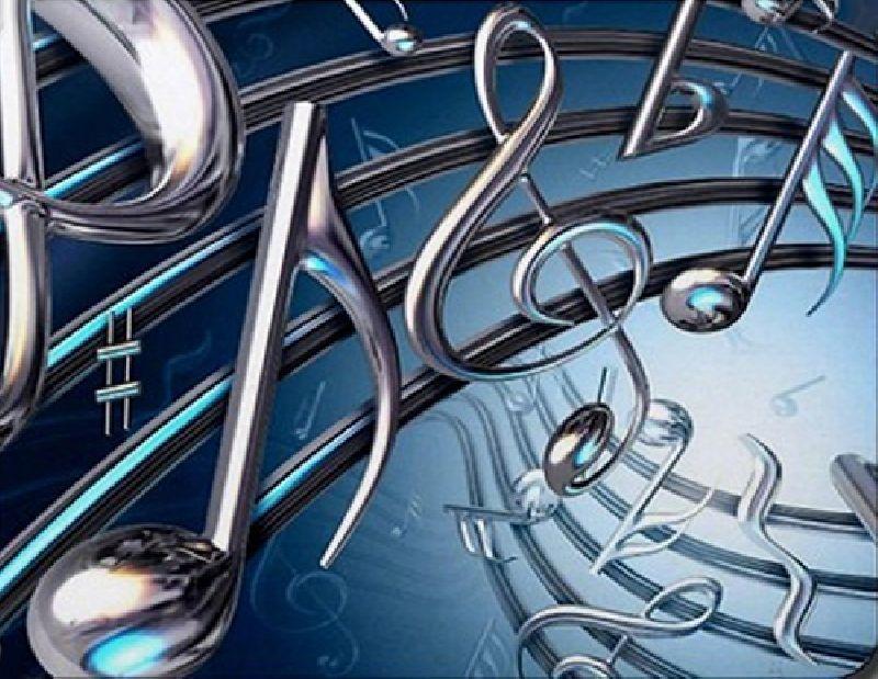 Mouse Pad Notas Musicais Tubulares 17X22 CM
