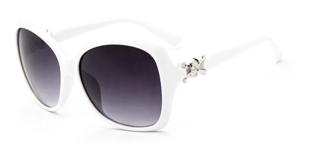Óculos de Sol Caveira Cambury Branco – SkullAchando