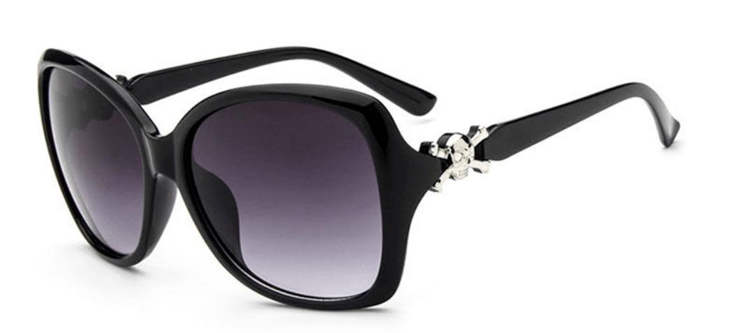 Óculos de Sol Caveira Cambury Preto – SkullAchando