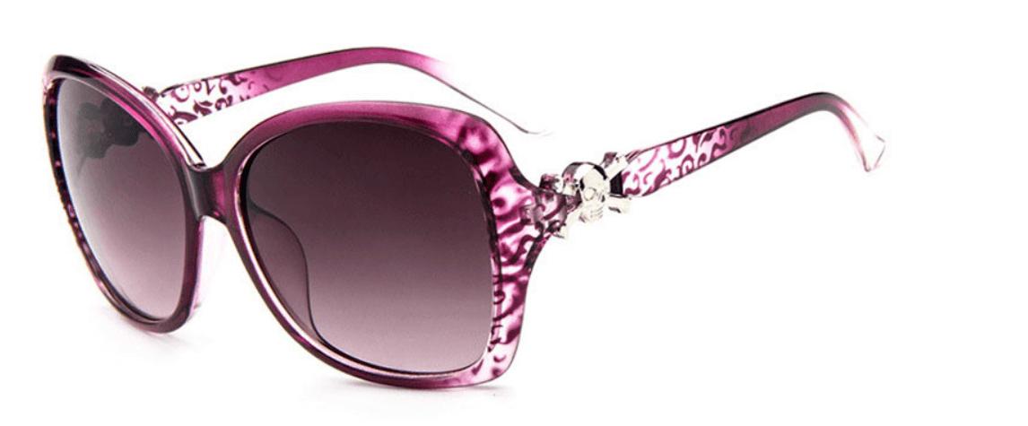 Óculos de Sol Caveira Cambury Rosa – SkullAchando