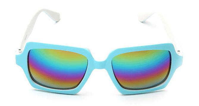 Óculos de Sol Caveira Itamambuca Azul - SkullAchando