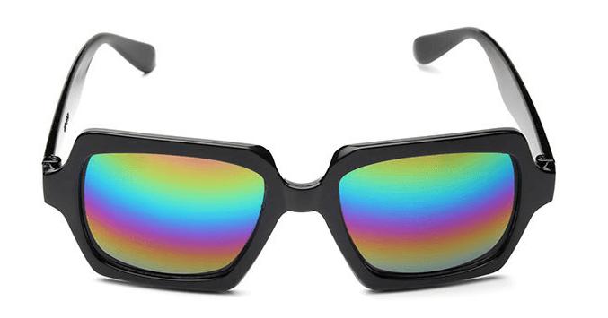 Óculos de Sol Caveira Itamambuca Preto Espelho – SkullAchando