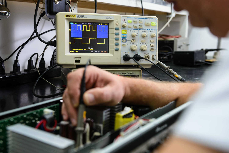 Pacote Manutenção Amplificador Transistorizado